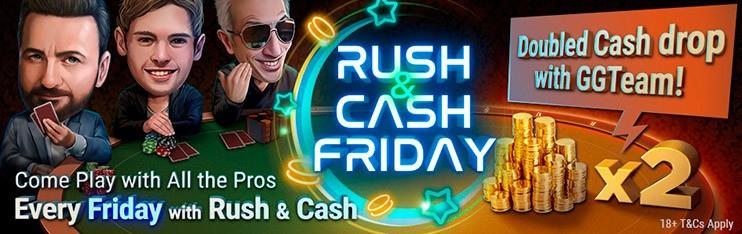 изменения в Rush-and-Cash по пятницам